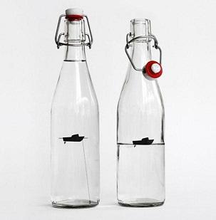 16 botella de agua